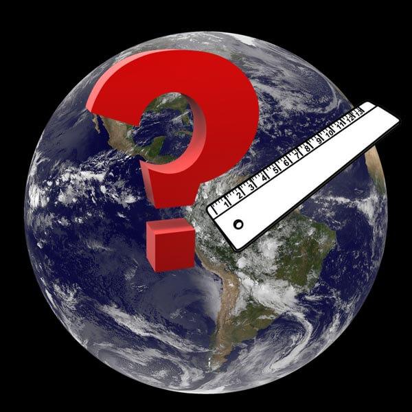 Medida de la tierra - Planeta tierra