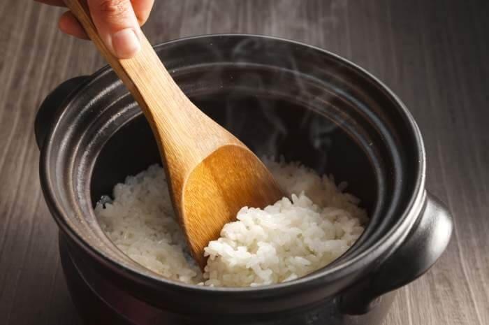 como hacer arroz - Texto