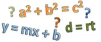 expresiones matematicas - Procesos matemáticos
