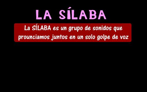 la silaba - Reglas de acentuación