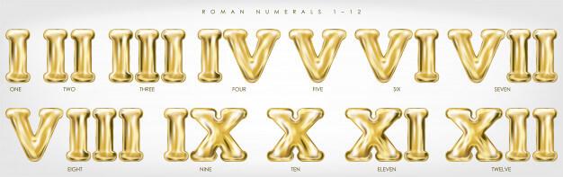 romanos - Números naturales