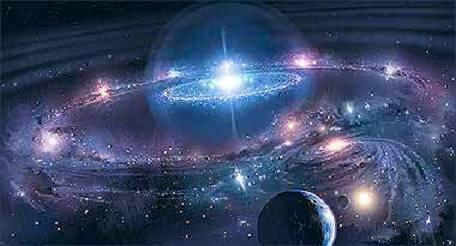 Estructura universo 1 - Tierra en el universo