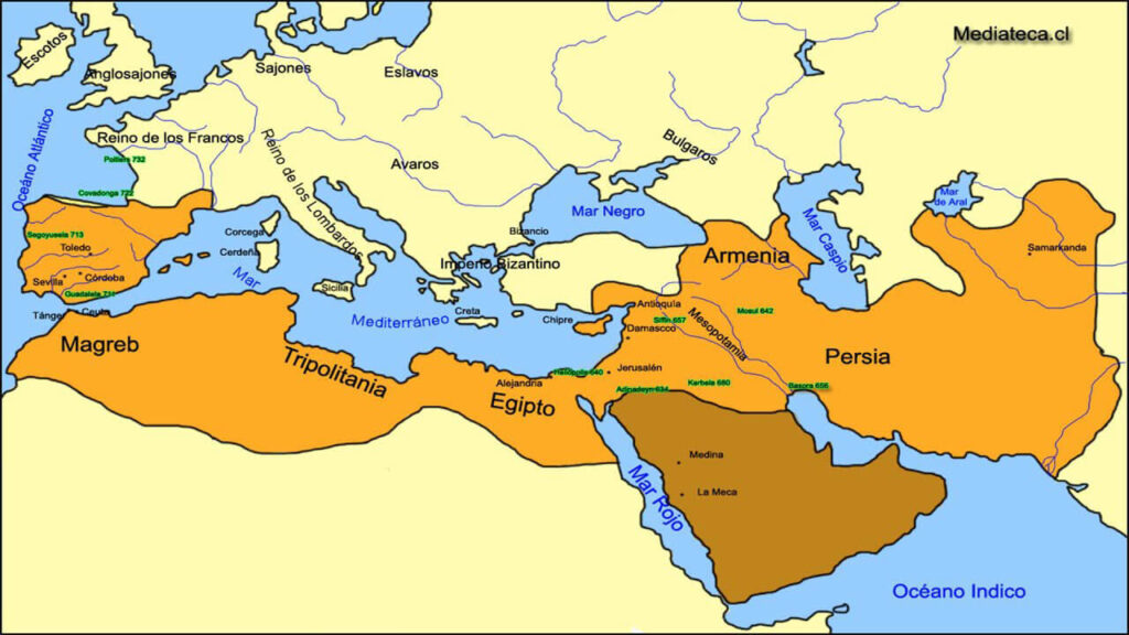 Origen del islam 1024x576 - Religión del Islam