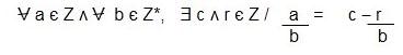 Teorema de la division - Divisores
