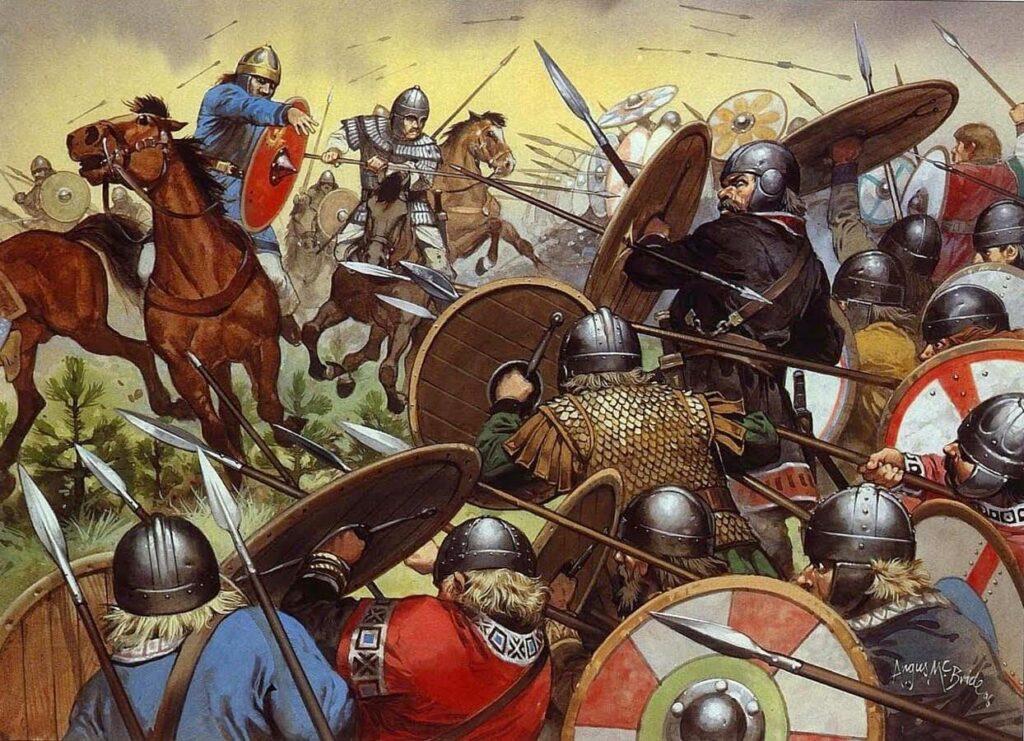 caida imperio romano 1024x741 - Imperio romano