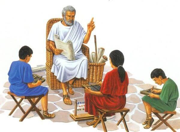 educacion romana - Imperio romano
