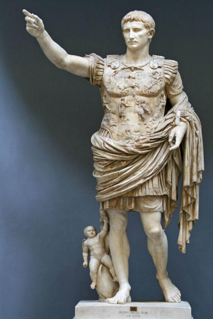 escultura romana 683x1024 - Imperio romano