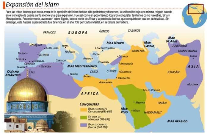 expansion islam - Califatos