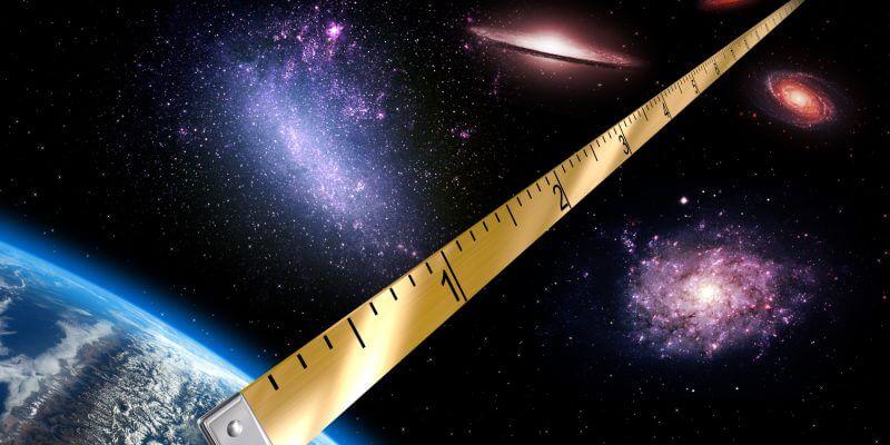 medidas universo - Tierra en el universo