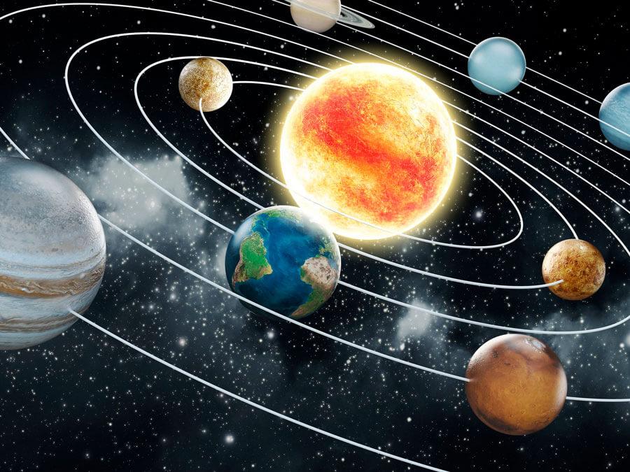 planetas 1 - Tierra en el universo