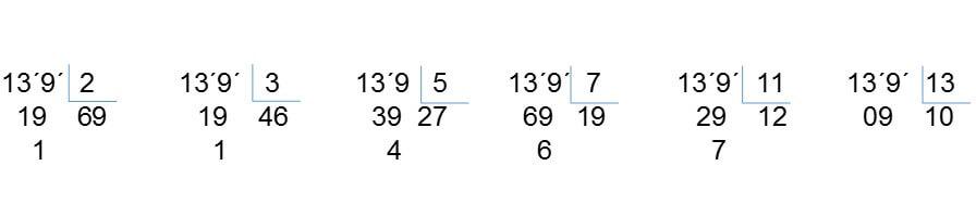 problema 1 primo - Números primos y compuestos