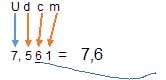 redondeo decimas 1 - Números decimales