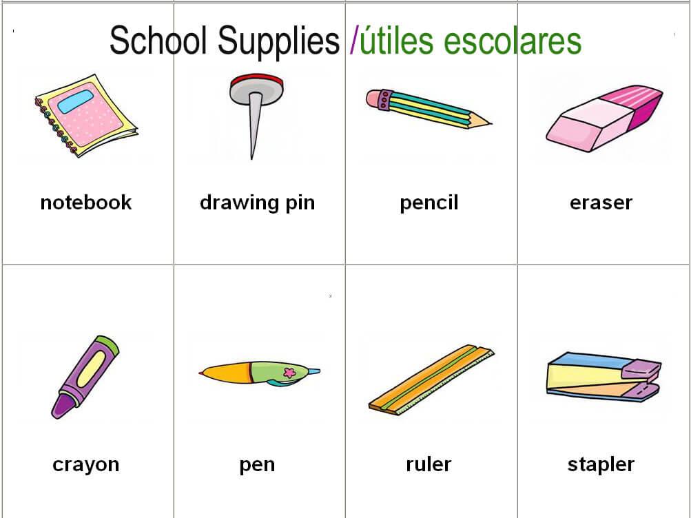 útiles-escolares