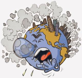 Efectos contaminacion - Contaminación atmosférica